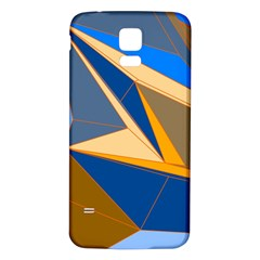 Abstract Background Pattern Samsung Galaxy S5 Back Case (white)