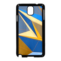 Abstract Background Pattern Samsung Galaxy Note 3 Neo Hardshell Case (Black)