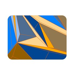 Abstract Background Pattern Double Sided Flano Blanket (mini)