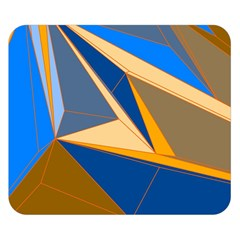Abstract Background Pattern Double Sided Flano Blanket (small)