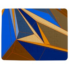 Abstract Background Pattern Jigsaw Puzzle Photo Stand (rectangular)