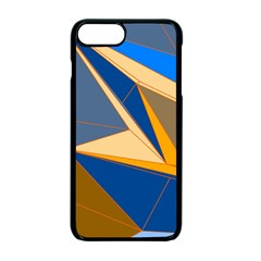 Abstract Background Pattern Apple Iphone 7 Plus Seamless Case (black)
