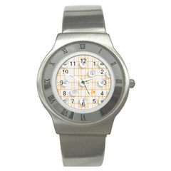 Icon Media Social Network Stainless Steel Watch