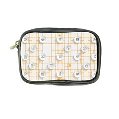 Icon Media Social Network Coin Purse