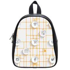 Icon Media Social Network School Bags (small)