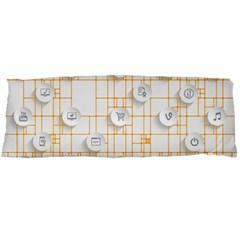 Icon Media Social Network Body Pillow Case Dakimakura (two Sides)
