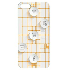 Icon Media Social Network Apple Iphone 5 Hardshell Case With Stand