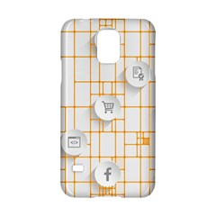 Icon Media Social Network Samsung Galaxy S5 Hardshell Case