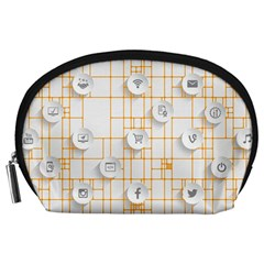 Icon Media Social Network Accessory Pouches (large)