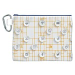 Icon Media Social Network Canvas Cosmetic Bag (XXL) Front