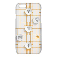Icon Media Social Network iPhone 6/6S TPU Case