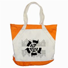 Arrows Top Below Circuit Parts Accent Tote Bag