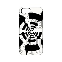 Arrows Top Below Circuit Parts Apple Iphone 5 Classic Hardshell Case (pc+silicone)
