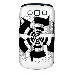 Arrows Top Below Circuit Parts Samsung Galaxy S III Classic Hardshell Case (PC+Silicone)