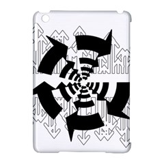 Arrows Top Below Circuit Parts Apple Ipad Mini Hardshell Case (compatible With Smart Cover)