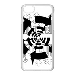 Arrows Top Below Circuit Parts Apple Iphone 7 Seamless Case (white)