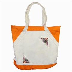 Floral Ornament Baby Girl Design Accent Tote Bag