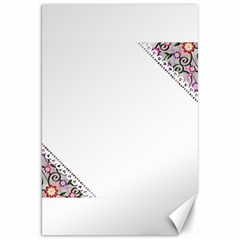 Floral Ornament Baby Girl Design Canvas 20  X 30