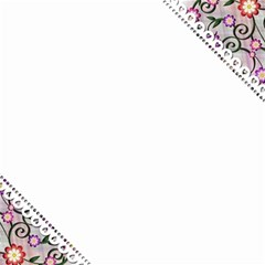 Floral Ornament Baby Girl Design Magic Photo Cubes