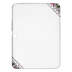 Floral Ornament Baby Girl Design Samsung Galaxy Tab 3 (10 1 ) P5200 Hardshell Case