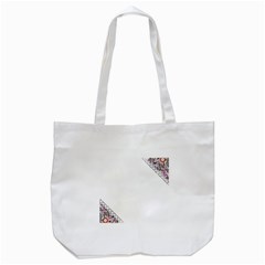 Floral Ornament Baby Girl Design Tote Bag (white)