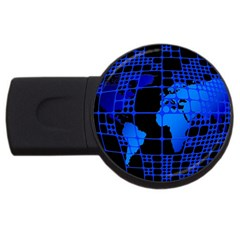 Network Networking Europe Asia Usb Flash Drive Round (4 Gb)