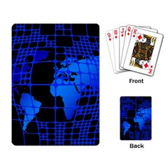 Network Networking Europe Asia Playing Card