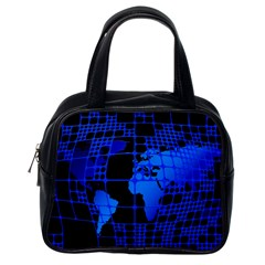 Network Networking Europe Asia Classic Handbags (One Side)