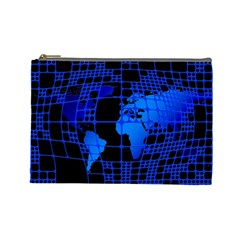 Network Networking Europe Asia Cosmetic Bag (Large)