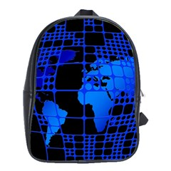 Network Networking Europe Asia School Bags(large)
