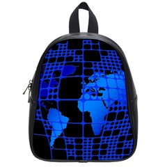 Network Networking Europe Asia School Bags (small)