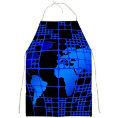 Network Networking Europe Asia Full Print Aprons