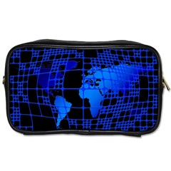 Network Networking Europe Asia Toiletries Bags 2 Side