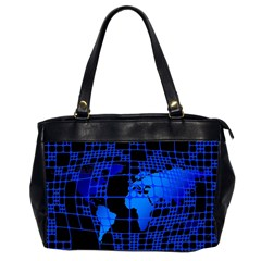 Network Networking Europe Asia Office Handbags (2 Sides)