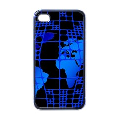 Network Networking Europe Asia Apple Iphone 4 Case (black)