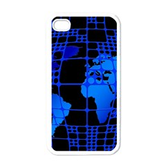 Network Networking Europe Asia Apple Iphone 4 Case (white)