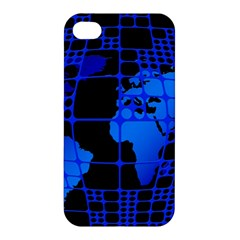 Network Networking Europe Asia Apple Iphone 4/4s Hardshell Case