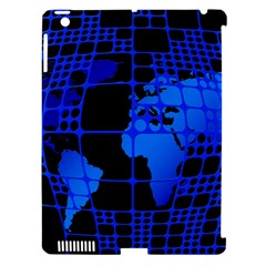 Network Networking Europe Asia Apple Ipad 3/4 Hardshell Case (compatible With Smart Cover)