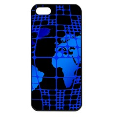 Network Networking Europe Asia Apple Iphone 5 Seamless Case (black)