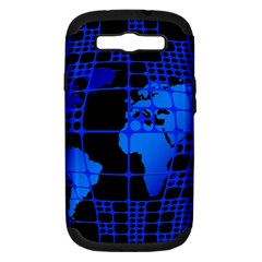 Network Networking Europe Asia Samsung Galaxy S Iii Hardshell Case (pc+silicone)