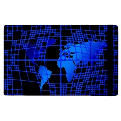 Network Networking Europe Asia Apple Ipad 2 Flip Case