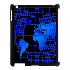 Network Networking Europe Asia Apple Ipad 3/4 Case (black)