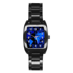 Network Networking Europe Asia Stainless Steel Barrel Watch
