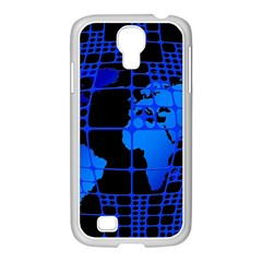 Network Networking Europe Asia Samsung Galaxy S4 I9500/ I9505 Case (white)