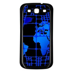 Network Networking Europe Asia Samsung Galaxy S3 Back Case (black)