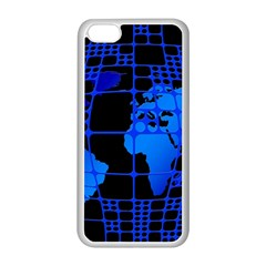 Network Networking Europe Asia Apple Iphone 5c Seamless Case (white)