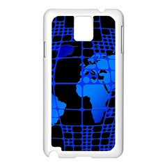 Network Networking Europe Asia Samsung Galaxy Note 3 N9005 Case (white)