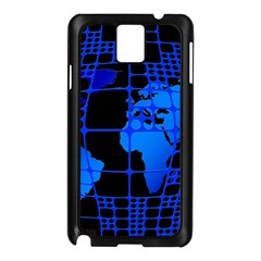 Network Networking Europe Asia Samsung Galaxy Note 3 N9005 Case (black)