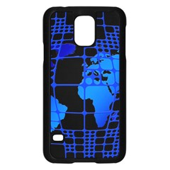 Network Networking Europe Asia Samsung Galaxy S5 Case (black)
