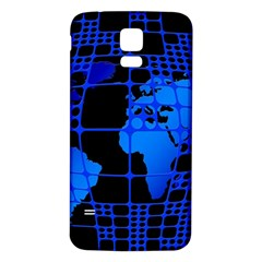 Network Networking Europe Asia Samsung Galaxy S5 Back Case (white)